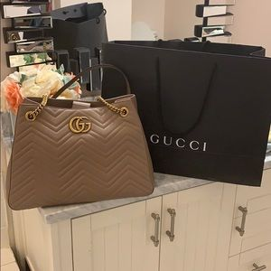 Beautiful Gucci Baby Pink Bag